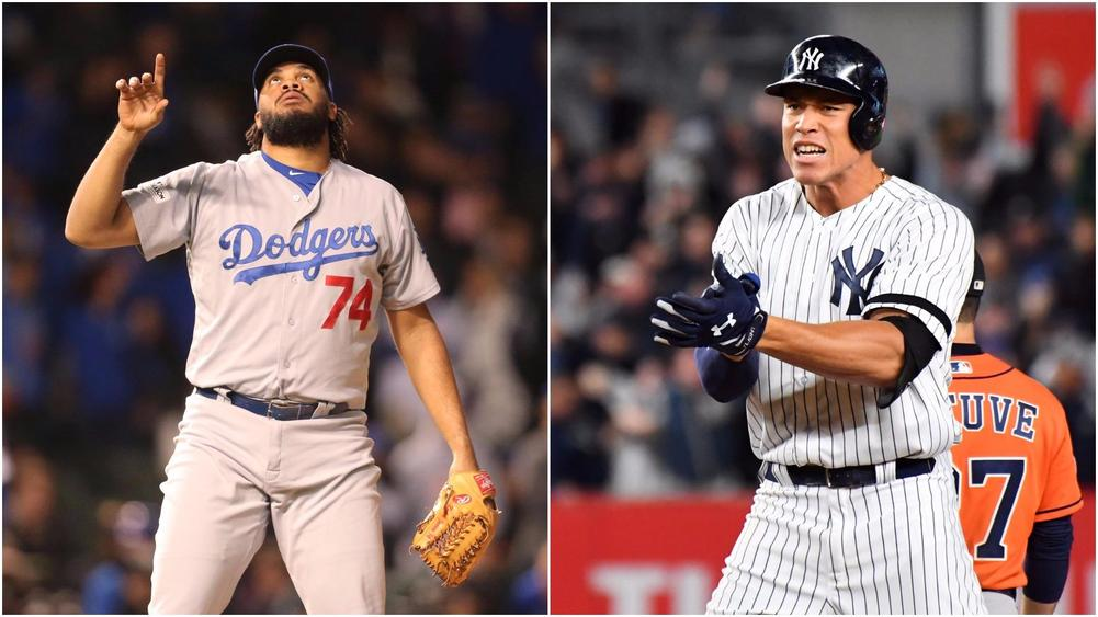 buy popular 8b599 2813d Dodgers Pull Away From Cubs, Yankees Level ALCS