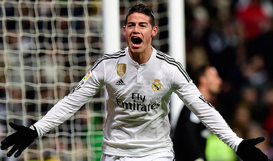 6. James Rodríguez (24 years)
