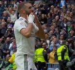 Real Madrid 2-0 Athletic: Benzema Brace Doubles Los Blancos' Lead