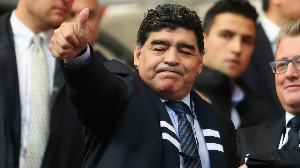 Diego Maradona will continue his career in Belarus