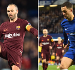 Hazard must win 'important trophies' to compare with Iniesta - Conte