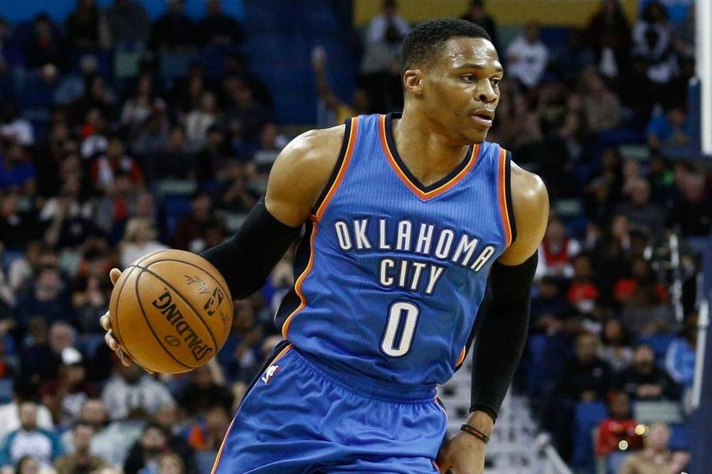 Westbrook au triple galop