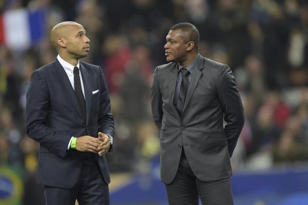 Thierry Henry - Marcel Desailly