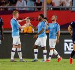 Premier League Asia Trophy: Manchester City 4 West Ham United 1