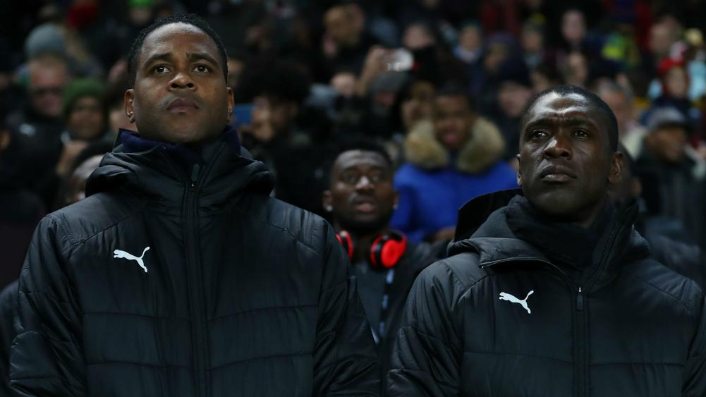 Patrick Kluivert and Clarence Seedorf