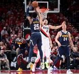 Murray, Leonard shine as Nuggets and Raptors level playoff series