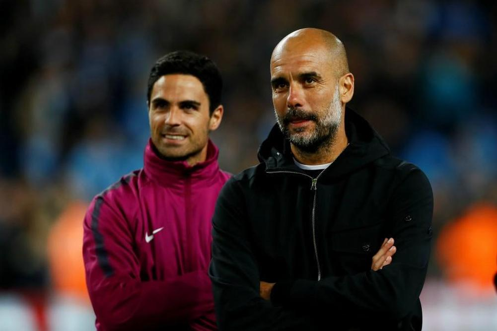 Man City Guardiola ne retiendra pas Arteta