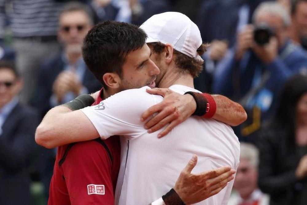 Rencontre djokovic murray