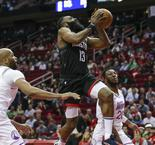 NBA : Harden souffre mais pas Houston !