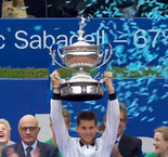 Thiem beats Medvedev in straight sets to lift trophy