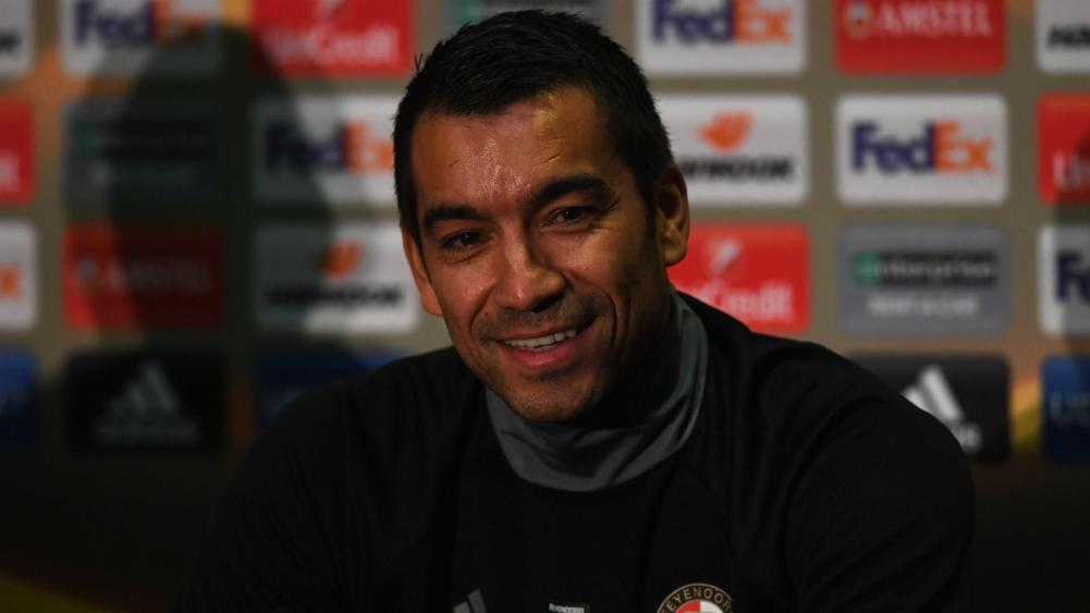 Feyenoord Head Coach Giovanni Van Bronckhorst Expecting ...