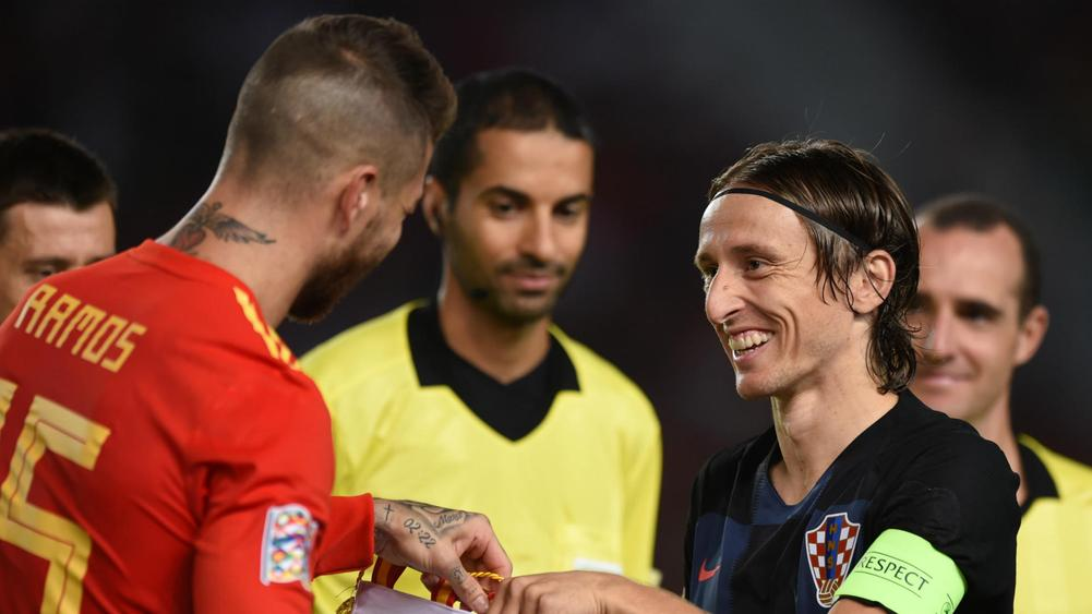 'Haha!' - Dejan Lovren taunts Sergio Ramos after Croatia beat Spain