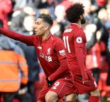 Firmino and Mane keep Reds hot on City's heels