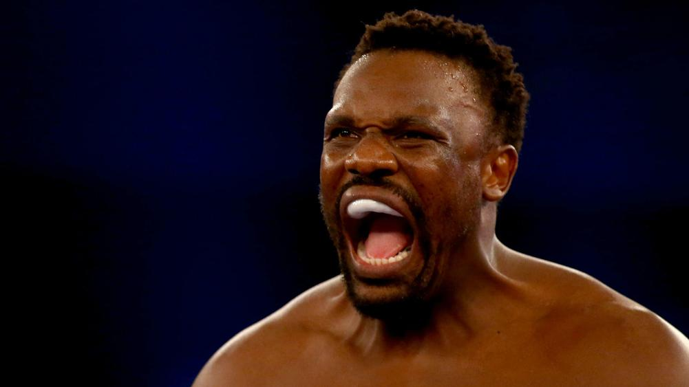 Chisora throws table at Whyte in heated exchange