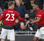 Martial gem lifts resurgent United into fourth place