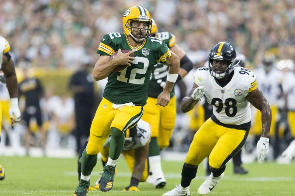 Contrat record pour Aaron Rodgers