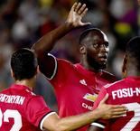 Lukaku revels in first goal for Manchester United