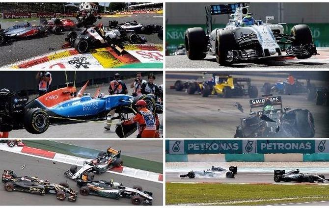 Formula one - 2016 accidents - beIN SPORTS