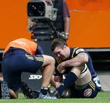 All Blacks star Squire suffers broken thumb