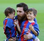 Messi: Thiago Is a Good Boy, Mateo a Little Terror