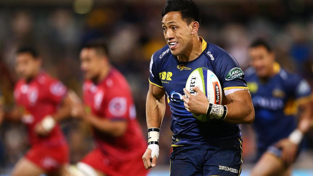 Christian Leali'ifano named to make Super Rugby return for Brumbies