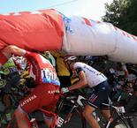 Chaos at Tour de France as Famme Rouge Deflates