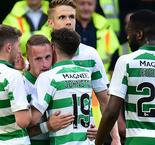 Celtic 5-0 Nomme Kalju: Griffiths nets on return as brilliant Bhoys take charge of tie