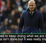 Zidane delighted by 'important win'