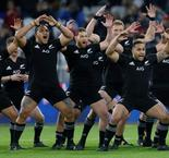 Le haka des All Blacks face au XV de France