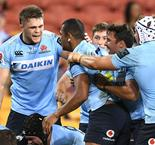 Waratahs edge out Reds, Blues beat Chiefs