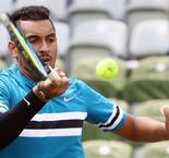 Kyrgios back in the groove with Stuttgart win