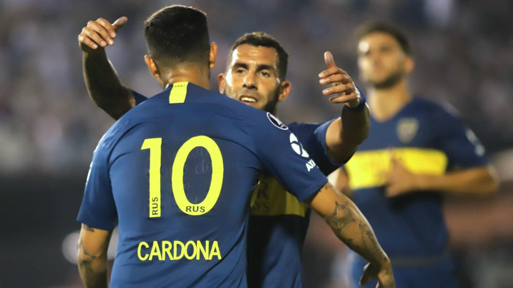 Copa Libertadores Review  Tevez helps Boca reach QFs e4032333c0dbc