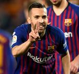Lenglet and Alba bring title closer for Barca