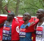 London Marathon: Kipchoge and Tufa win in the capital
