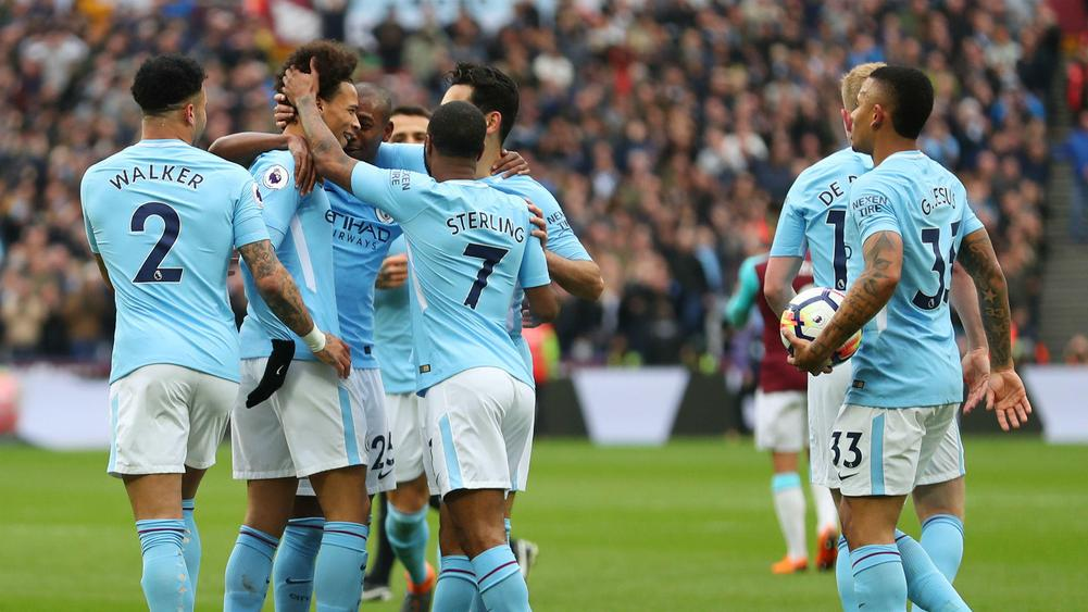 West Ham 1 Manchester City 4: Hammers hammered by rampant champions