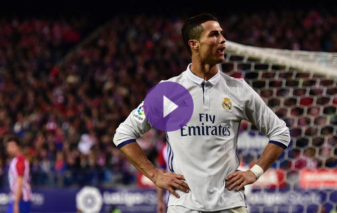 1621cf94245 Record-Breaking Cristiano Ronaldo Hat-Trick Sends Real Madrid Four Points  Clear  Sinks Atletico Madrid