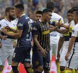 Tevez unimpressed after Gutierrez sparks melee