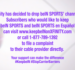 Why Is beIN SPORTS No Longer on Xfinity?