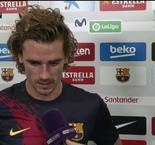 Antoine Griezmann Interview After Barcelona's 5-2 Win Over Real Betis