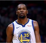 Warriors star Durant suffers calf injury
