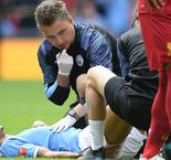 Leroy Sane Off Injured In First Half Of Community Shield