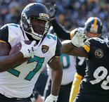 Jaguars upset Steelers in NFL playoffs
