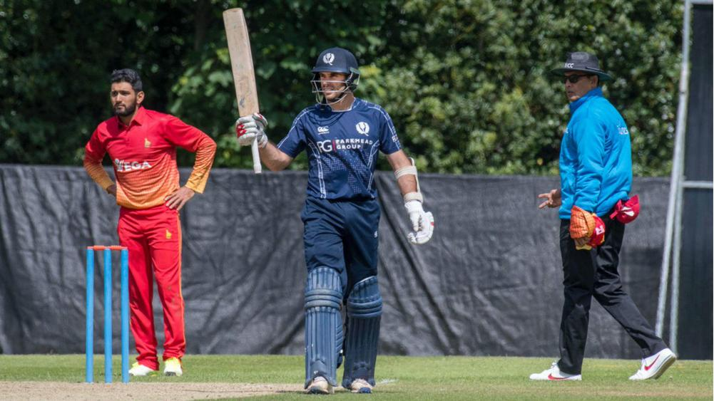 Coetzer ton blasts Scots to Zimbabwe shocker