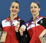 Alexandri sisters claim synchronised swimming silver