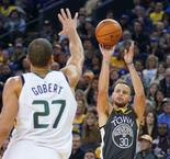 NBA : Golden State implacable contre Utah