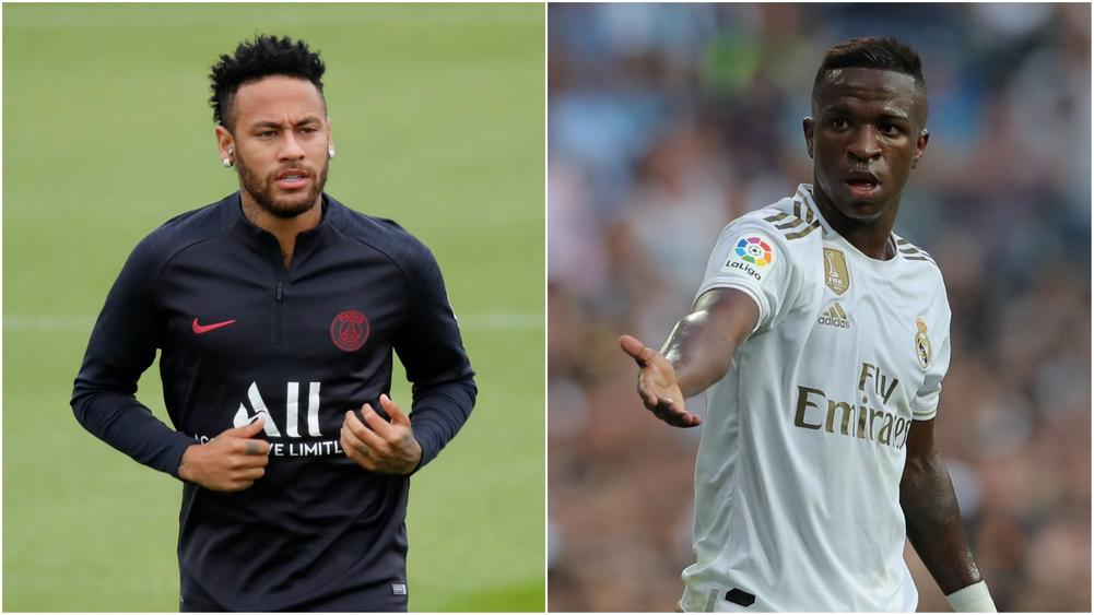 PSG have told Real Madrid they will only negotiate for Neymar if Vinicius Junior is part of a deal, according to AS. | beIN SPORTS USA