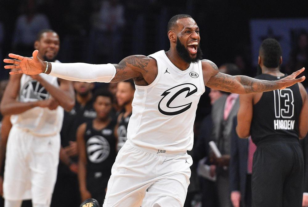 Lebron james celebrity basketball game 2019