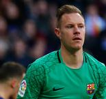 Barcelona Goalkeeper Ter Stegen Ruled Out Of Copa del Rey Final