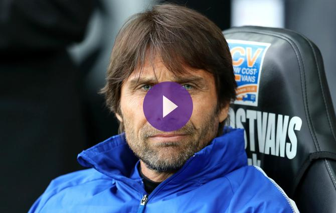 Chelsea have suffered from 'lack of luck' - Conte