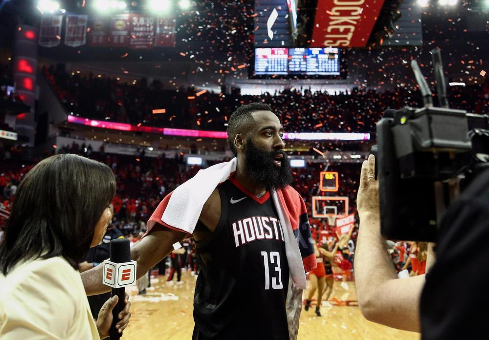 Houston routs Utah 100-87, take 3-1 lead in series